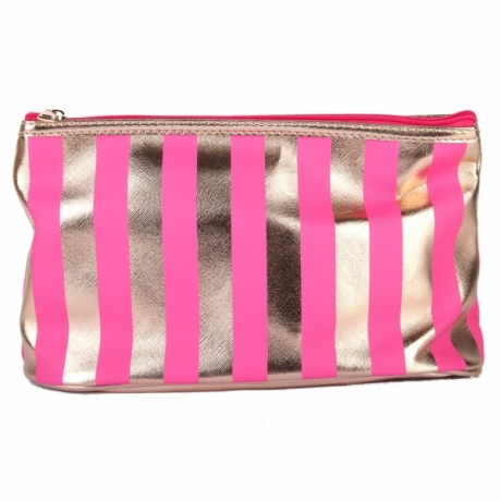 BYS Косметичка Vertical Stripe Rose Gold