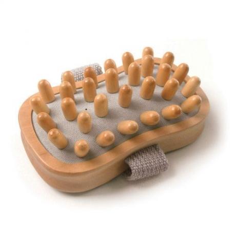 Basicare Wooden Cellulite Massager