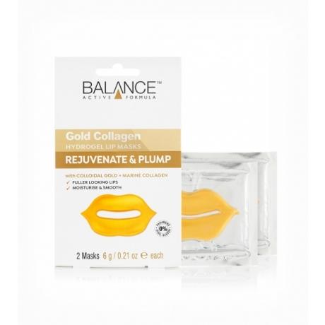 Balance Lip Masks Gold Collagen Hydrogel 2 masks 6 g