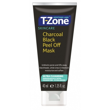 Newtons Labs T Zone Charcoal Black Peel Off Mask 40ml