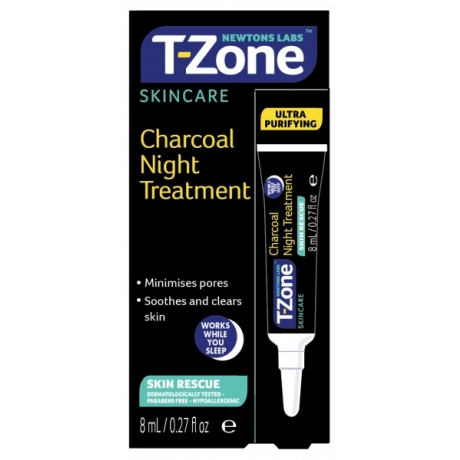 Newtons Labs T-Zone Charcoal Night Treatment 8 ml