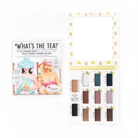 theBalm Палетка теней для век Whats The Tea? Ice Tea