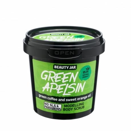 Beauty Jar Cкраб для тела Body Scrub Green Apelsin  200g