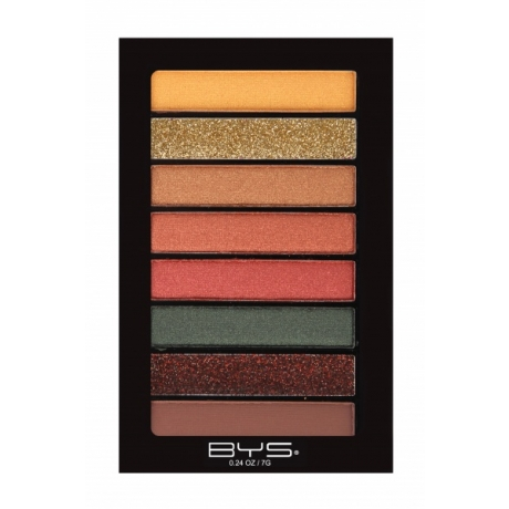 BYS Eyeshadow 8 pc Horizontal JUNGLE ROCK