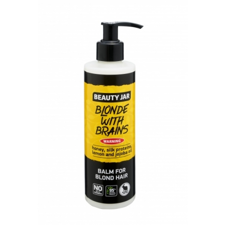 Beauty Jar Hoitoaine Blonde With Brains 250ml