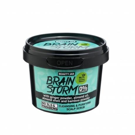 Beauty Jar Scalp Scrub Brainstorm peanaha koorija 100g