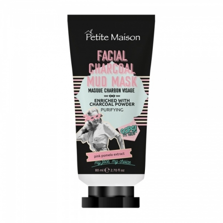 Petite Maison Oops I´m Great! Facial Charcoal Mud Mask 80ml
