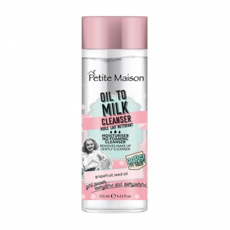 Petite Maison Oops I´m Great! Facial Oil To Milk Cleanser