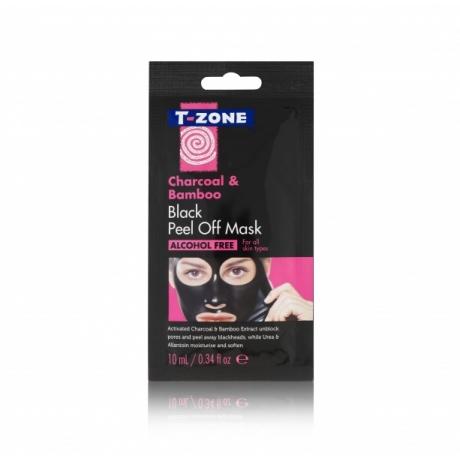 TZone Kasvonaamio Peel Off Sachet Mask Charcoal & Bamboo 10ml