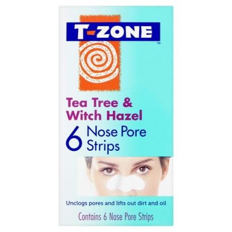 TZone Полоски для очищения пор на носу Tea Tree and Witch Hazel 6шт