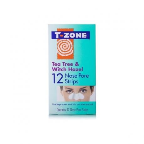 TZone Полоски для очищения пор на носу Tea Tree and Witch Hazel 12шт
