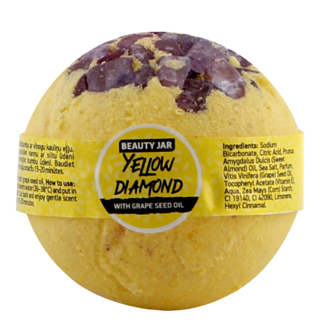 Beauty Jar Бомбочка для ванны Yellow Diamond 150g