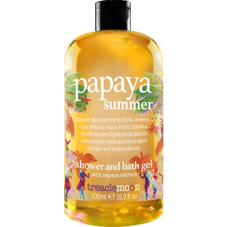 Treaclemoon Гель для душа Papaya Summer 500ml