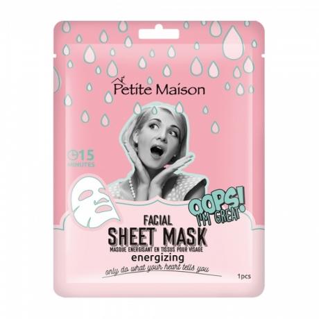 Petite Maison Facial Sheet Mask Energizing 25ml