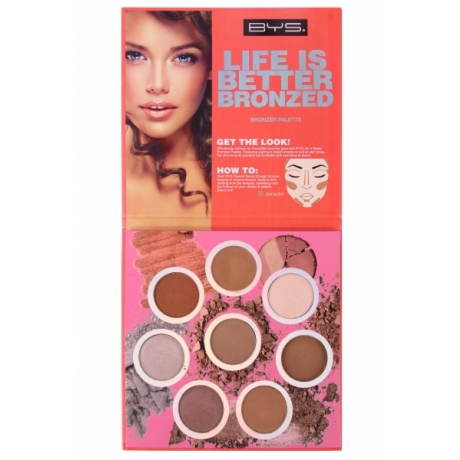 BYS Bronzer Palette Life Is Better Bronzed