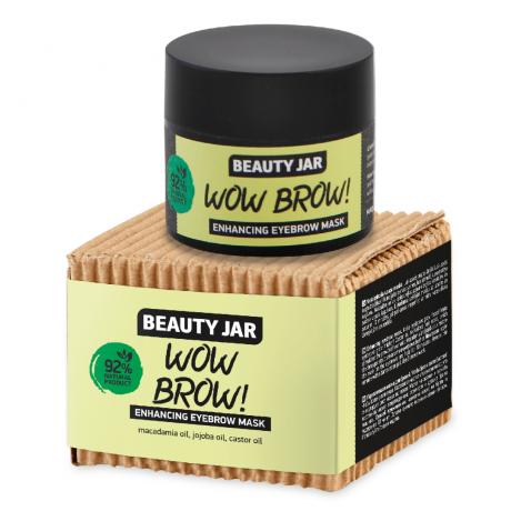Beauty Jar Kulmien naamio Wow Brow! 15ml