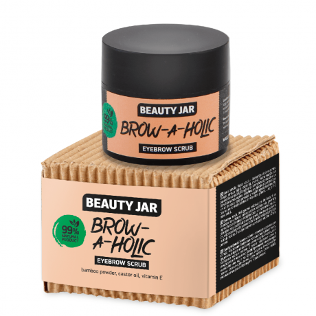 Beauty Jar Eyebrow scrub  Brow a Holic 15ml