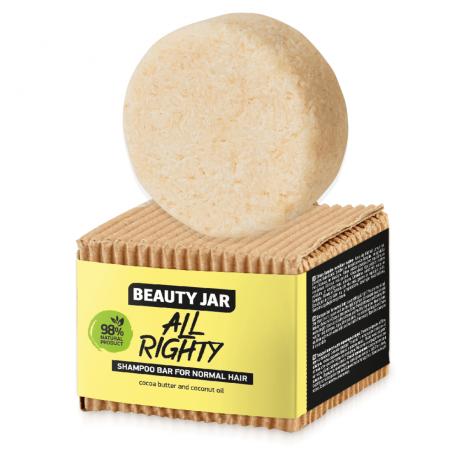 Beauty Jar Shampoo bar for normal hair All Right 65g