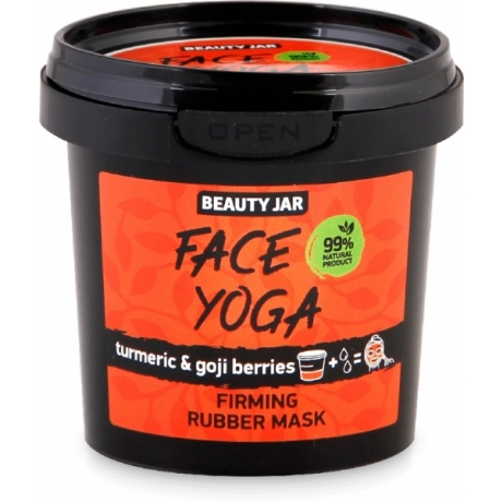 Beauty Jar Kiinteyttävä kasvonaamio Face Yoga 20 g