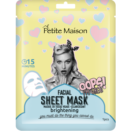 Petite Maison Sheet Mask Brightening 25ml