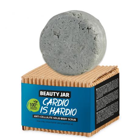 Beauty Jar Антицеллюлитный твердый скраб для тела Cardio Is Hardio 100г