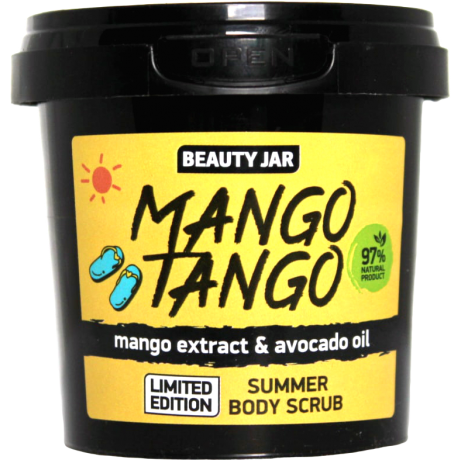 Beauty Jar Body Scrub Mango Tango kehakoorija 150ml