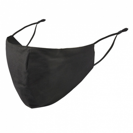 BYS Face Mask 3 Layer Black