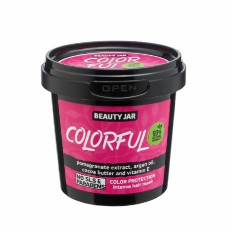 Beauty Jar Hair Mask Color Intense Protection Colorful juuksemask 150g