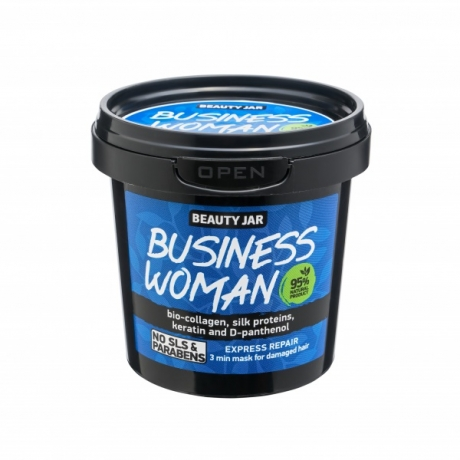 Beauty Jar  Hiusnaamio Business Woman 150g