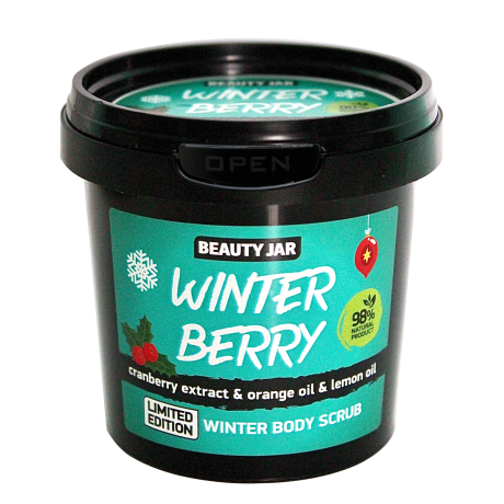Beauty Jar Body Scrub Winter Berry kehakoorija 200g