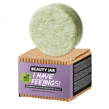 Beauty Jar Shampoo bar for sensitive scalp I HAVE FEELINGS! 65g