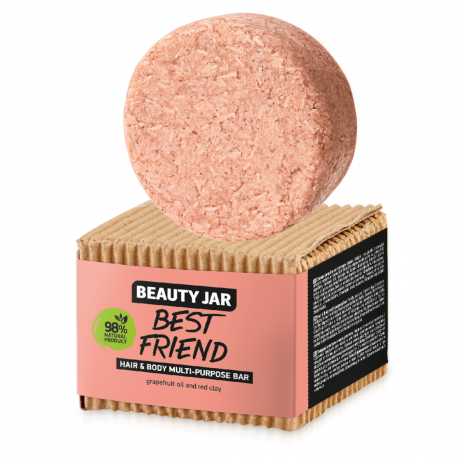 Beauty Jar Multi purpose bar for hair and body BEST FRIEND 65g
