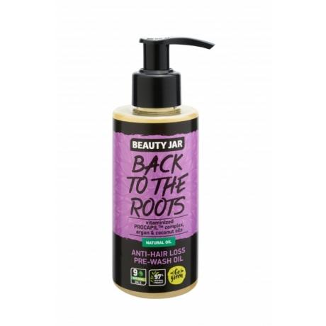 Beauty Jar Масло против выпадения волос BACK TO THE ROOTS 150 мл