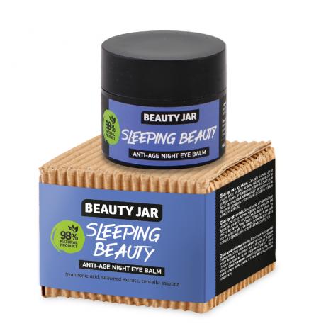 Beauty Jar Anti age night eye balm Sleeping Beauty silmaümbruskreem 15ml