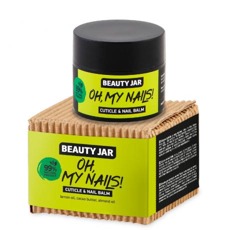 Beauty Jar Cuticle and nail balm OH MY NAILS! 15ml