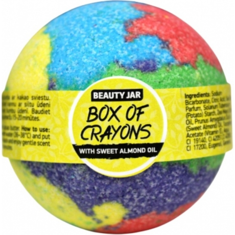 Beauty Jar Bath Bomb Box of Crayons 150g