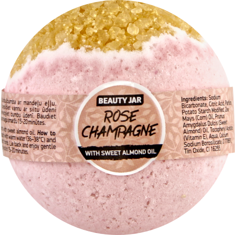 Beauty Jar Bath Bomb Rosé Champagne 150 g