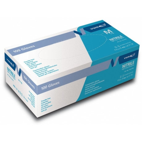 Examination gloves Nitril Light 100 pc blue S