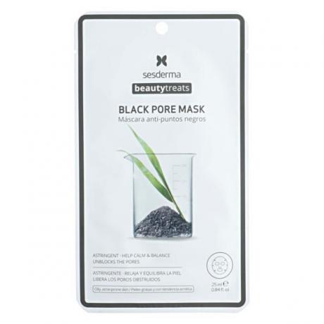 Sesderma Beauty Treats Black Pore Mask Ihohuokosia supistava naamio 25ml
