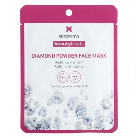 Sesderma Beauty Treats Diamond Powder Face Mask Timanttinaamio 22ml