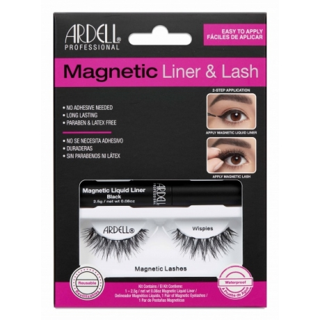 Ardell Magnetic Liquid Liner and Wispies Lash Kit