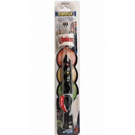Hambahari Avengers Toothbrush Ready Go Black Panther
