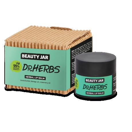Beauty Jar Herbal lip balm Dr.Herbs Бальзам для губ 15мл