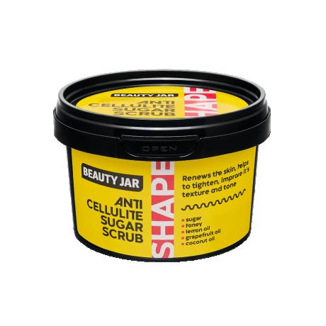 Beauty Jar Shape Anti Cellulite Sugar Scrub Kehakoorija 250g