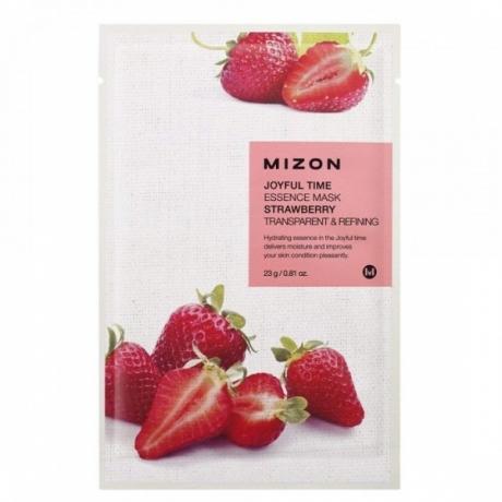 Mizon Joyful Time Essence Mask Strawberry 23g