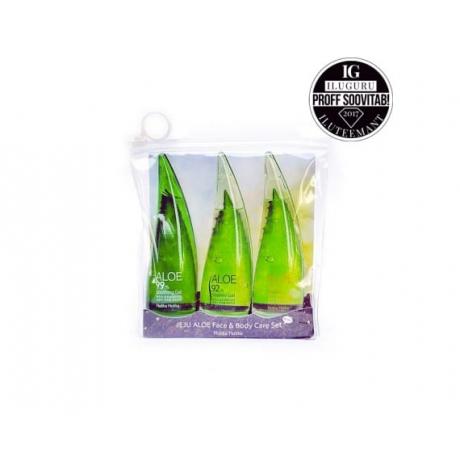 Holika Holika Jeju Aloe Face And Bodycare Set Hooldustoodete komplekt 165ml