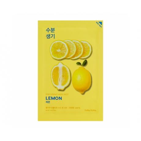 Holika Holika Pure Essence Mask Sheet Lemon Näomask 20ml