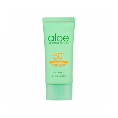 Holika Holika Aloe Soothing Essence Waterproof Sun Cream SPF50+ 70ml