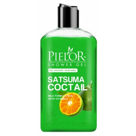 Pielor Shower Gel Satsuma Cocktail 500ml