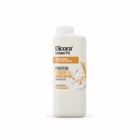 Dicora Urban Fit Shower Cream Protein Yogurt and Oats 400ml